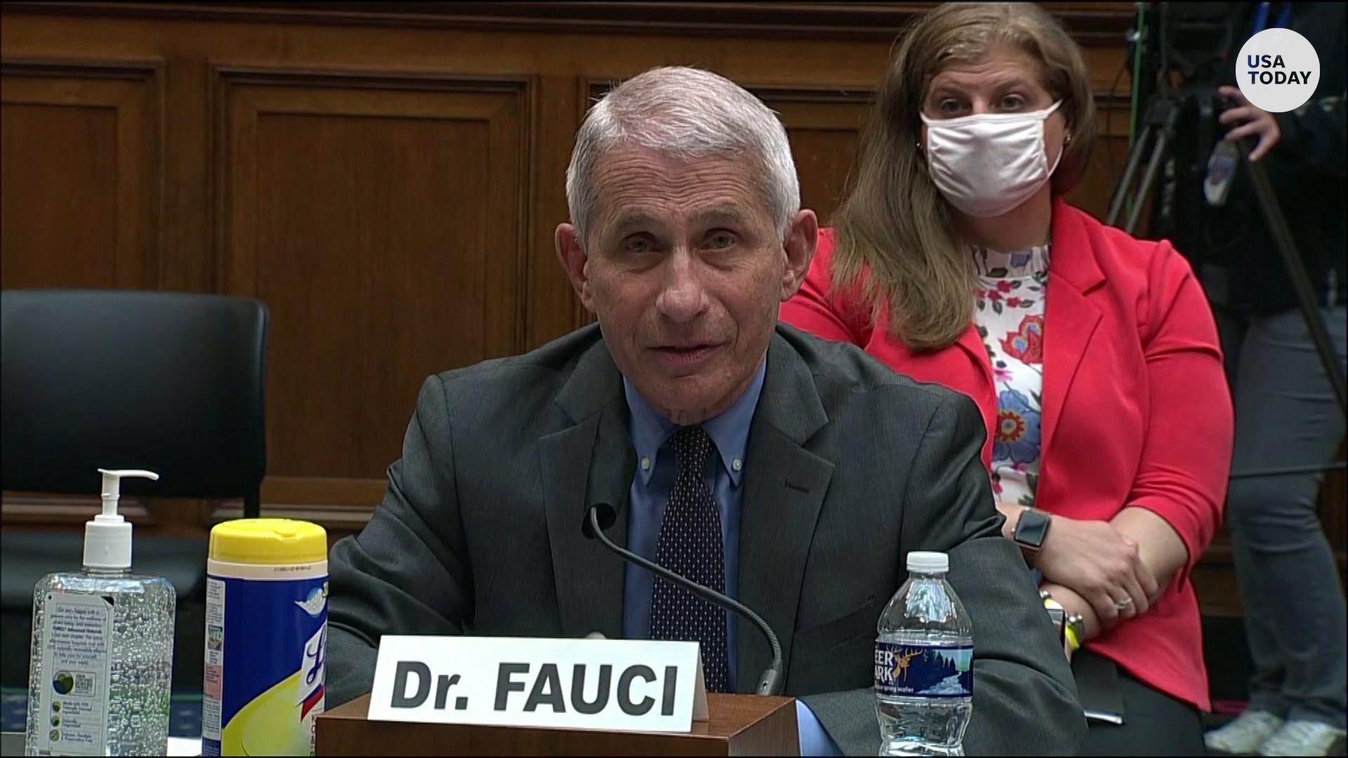Fauci to testify before Congress on state of coronavirus pandemic