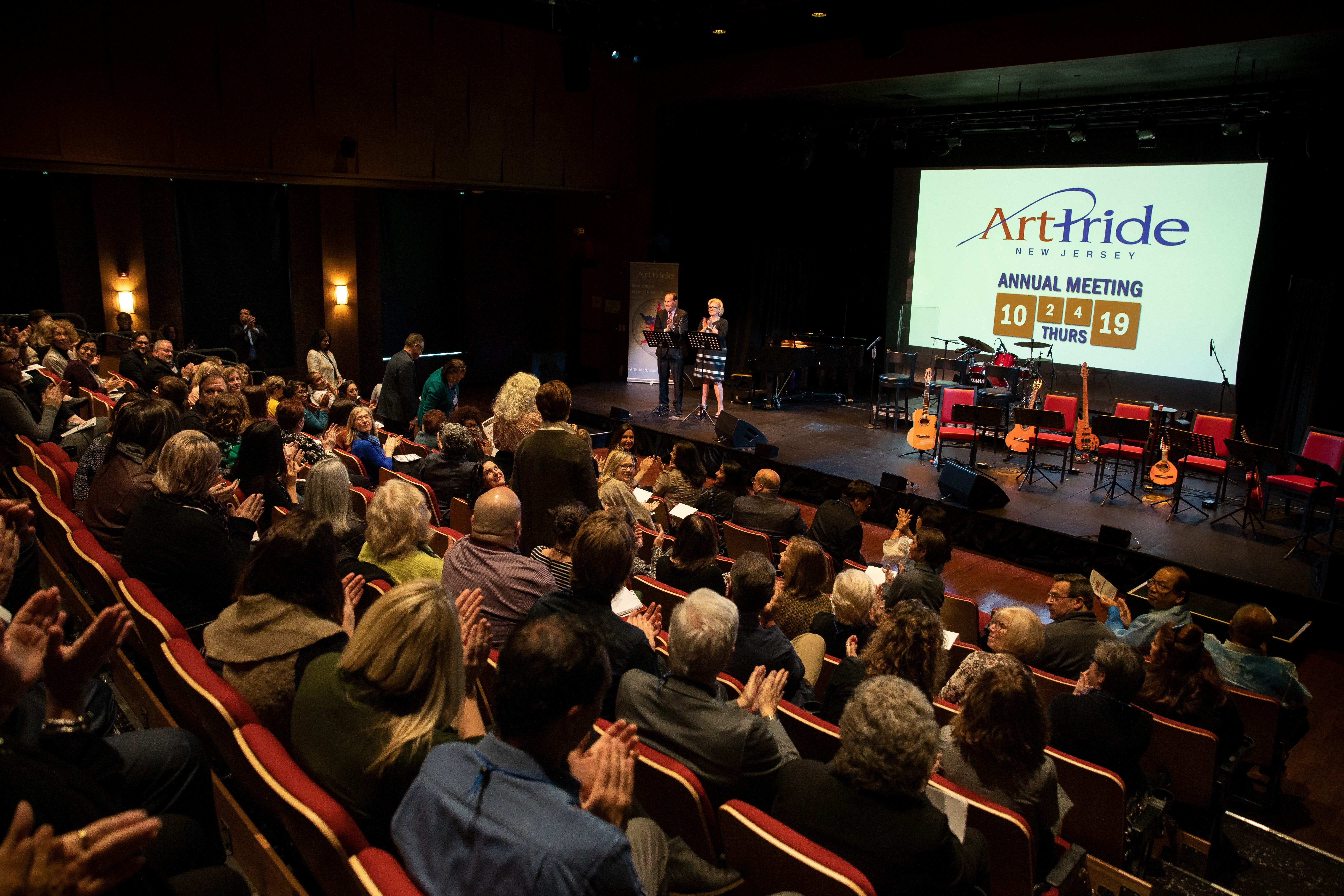 Celebrity Dining: The 2019 membership meeting of ArtPride, a Burlington County-based arts organization.