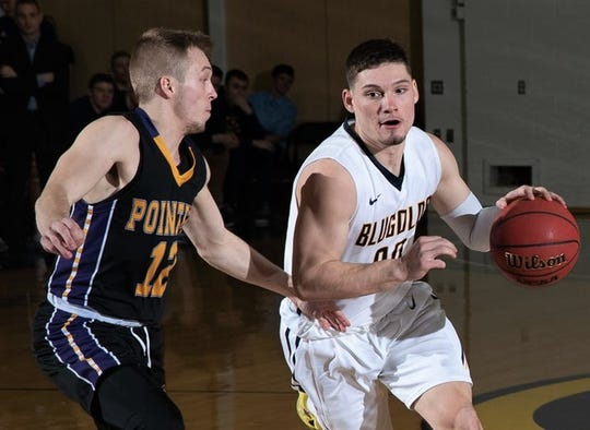North Kitsap graduate Cole Rabedeaux helped the University of Wisconsin-Eau Claire men's basketball team earn a trip to the NCAA Division III tournament during his senior season. He averaged 19.3 points per game.