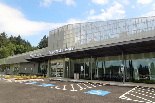 CHI Franciscan's new Northwest Family Medicine Clinic on Kitsap Way in Bremerton. CHI Franciscan renovated the space, which formerly housed a QFC grocery store. Officials say they hope to eventually open an urgent care clinic next door.