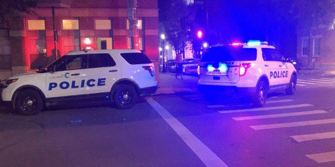 One person was shot in the leg at Walnut and 13th streets early Wednesday, Cincinnati police say.