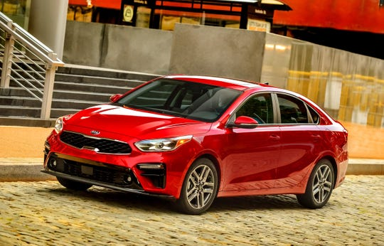 Kia tied for the top brand with Dodge, and the Forte was the top-ranked compact car.