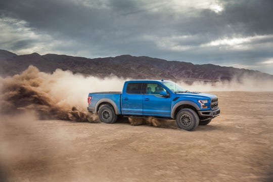 The 2020 Ford F-150 Raptor.