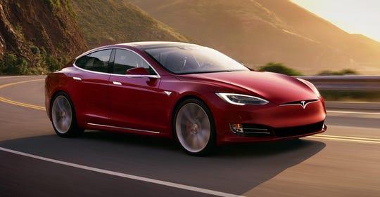 A 2017 Tesla Model S