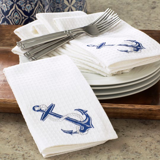 Fabric napkins can replace paper varieties that may be in short supply during the pandemic.