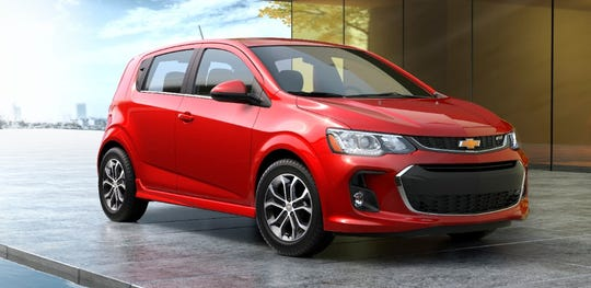 2020 Chevrolet Sonic got the Highest Initial Quality Model award.