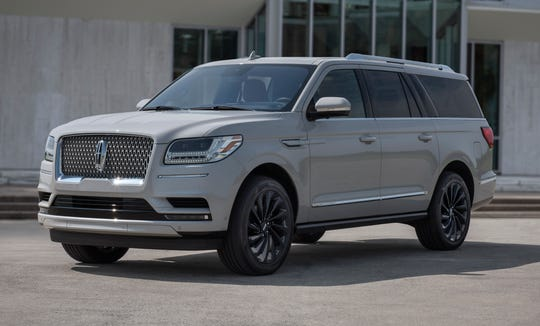 The Lincoln Navigator won for large premium SUV.