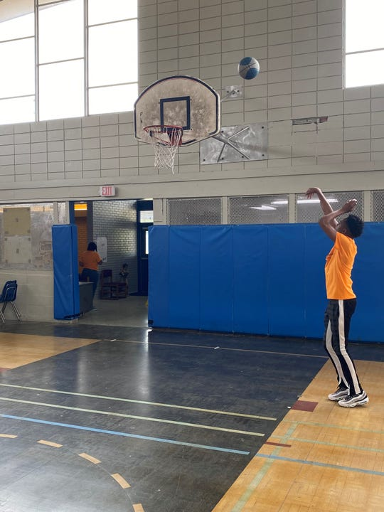 2020 Louisiana Youth of the Year Zontré Scott started taking basketball seriously at the Boys and Girls Club in Abbeville, where he eventually gained enough skills to play with the older kids. He still plays basketball at the local club, where he now has a summer job. June 24, 2020.