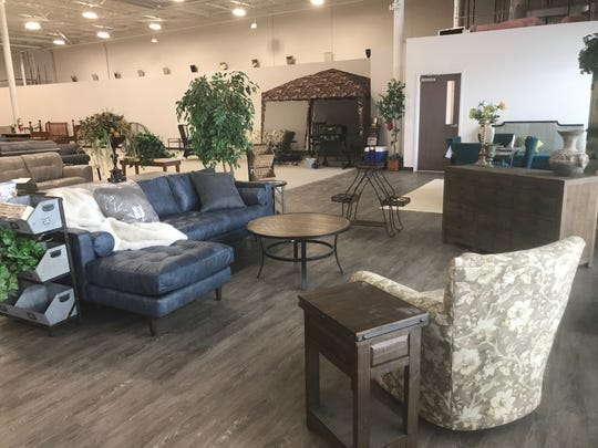 The Furniture Bank of Central Ohio will sell furniture like this to help the needy when it opens Tuesday in the Plaza Shopping Center in the former Carnival Foods building at 1215 N. Memorial Drive.