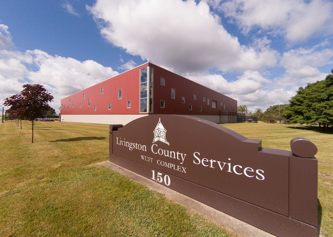 The Livingston County Jail, shown Wednesday, June 24, 2020, has two COVID-19 cases.