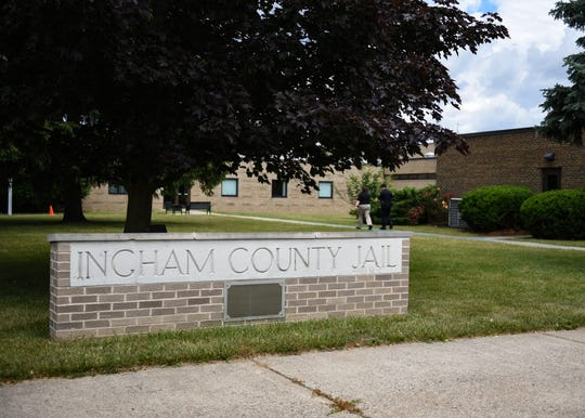 The Ingham County jail in Mason, Mich., pictured Wednesday, June 24, 2020.