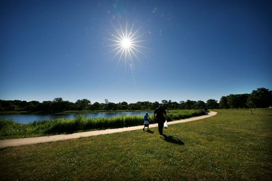 """Niche released its """"2020 Best Places to Live in Wisconsin"""" list, and Elm Grove ranked No. 1. This is a file photo taken at Elm Grove Village Park."""