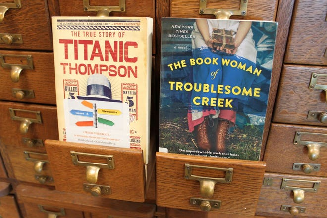 Two of the books featured in the Baxter County Library's two book clubs, Issues & Viewpoints and All Booked.