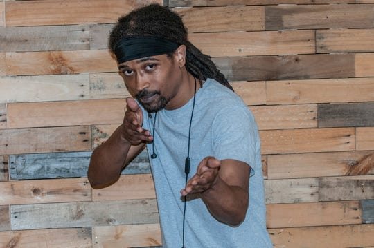 """A-1 Ninja Star of Tallassee said he likes performing an """"easy listening"""" style of hip hop."""
