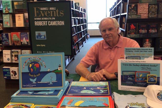 Robert Cameron held a book signing event at the Barnes and Nobles at Waterside Shops in Naples prior to the pandemic.