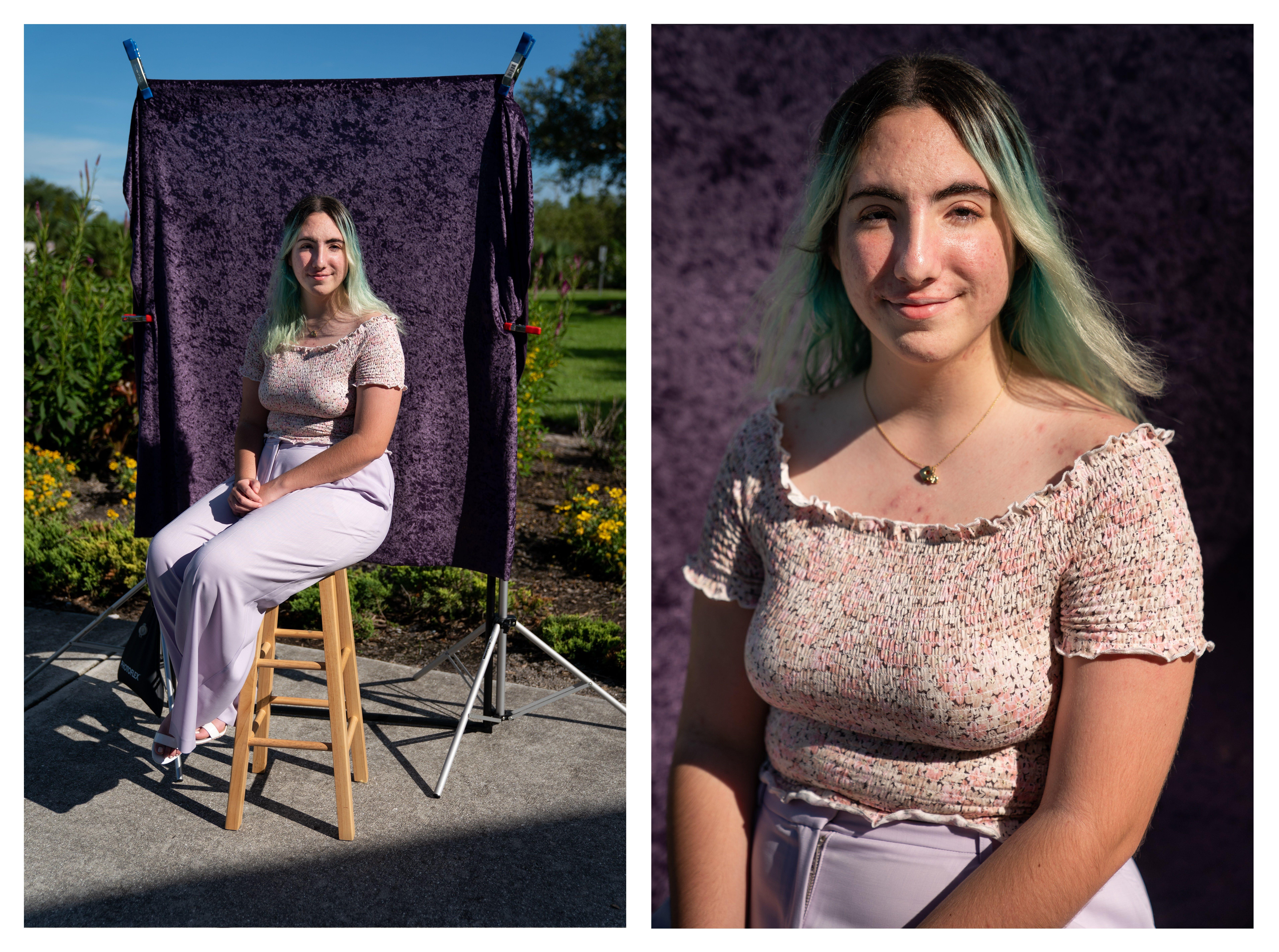 Sarahi Lopez, 2020 graduate of Marco Island Academy.