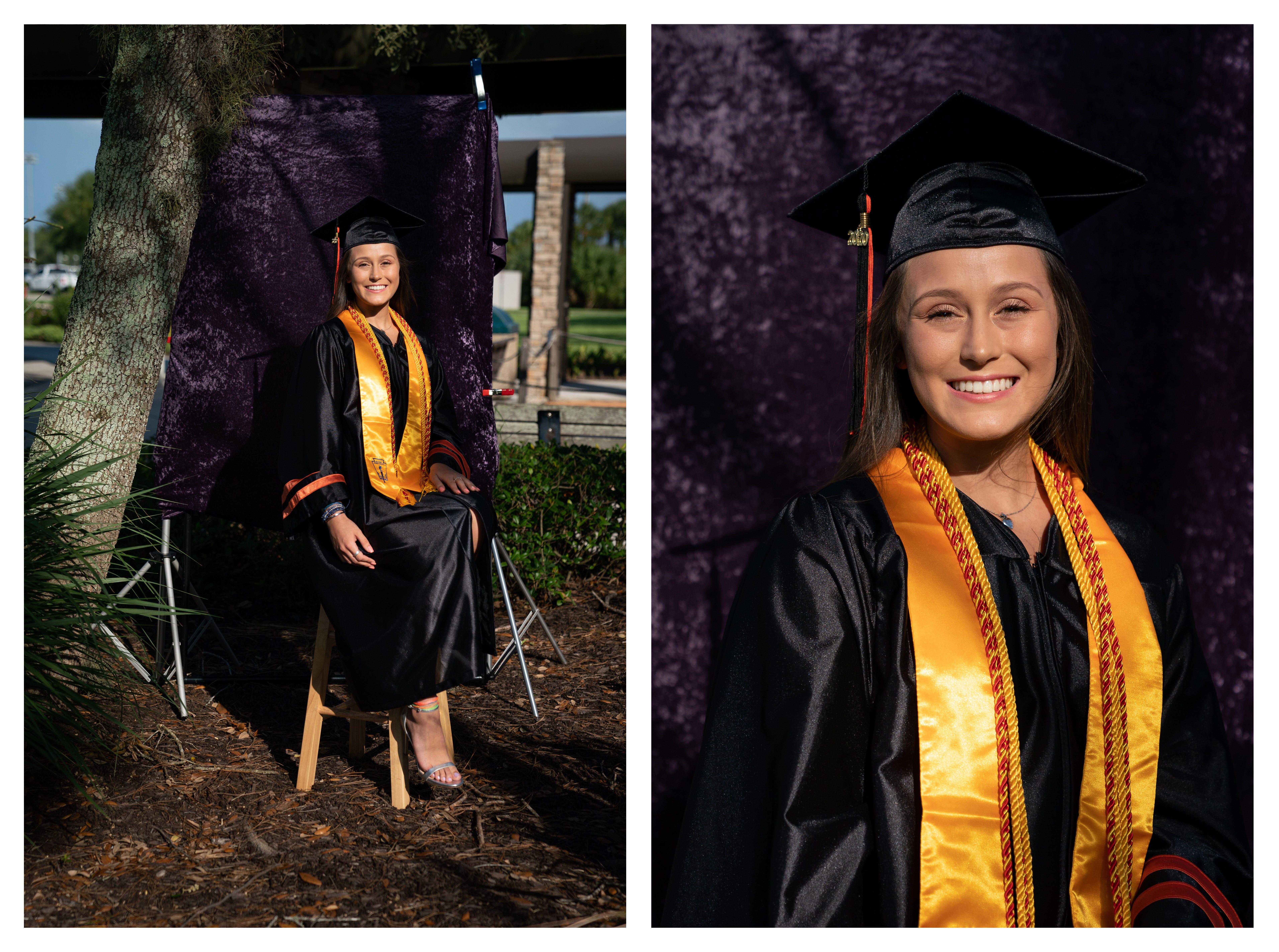 Victoria Novotny, 2020 graduate of Lely High School.