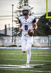 Tanner Slazinski comes into his third season as the starting quarterback at Bloomfield Hills.
