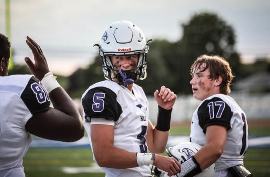 Tanner Slazinski has high expectations for the Bloomfield Hills offense his senior year.