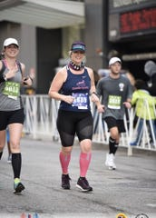 Kate Milz has been training for her sixth marathon.
