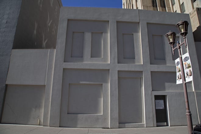 This downtown Phoenix building, once the Steinegger Lodging House, is set to be demolished. The building is located between the Hilton Garden Inn and Renaissance hotel.