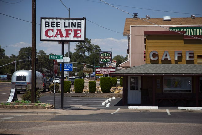 The Beeline Cafe along SR-87 in Payson on June 24, 2020. Kassie Sexton, an owner of the cafe, said business was way down the week prior because of the closing of SR-87 due to the Bush Fire.