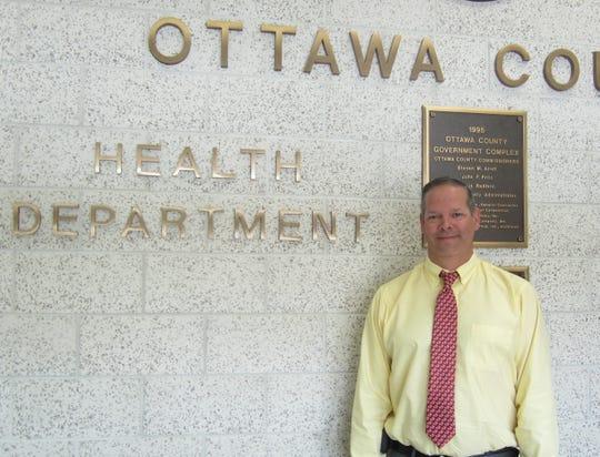 Ottawa County Health Commissioner Jerry Bingham.