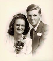 Jim and Loretta Raffensberger were married on June 22, 1946.