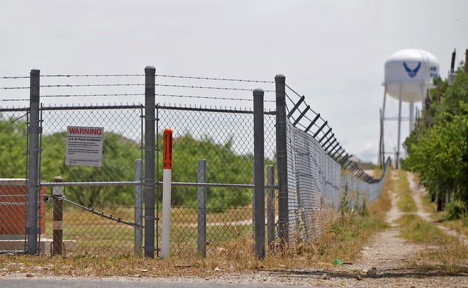 Much of the proposed improvements included in the project includes work around Goodfellow Air Force Base seen here in this Tuesday, June 23, 2020 photo.