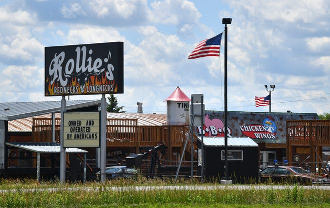 Rollie's Rednecks & Longnecks in Sauk Rapids was one of 14 bars statewide warned about failing to comply with COVID-19 restrictions, state officials announced Monday