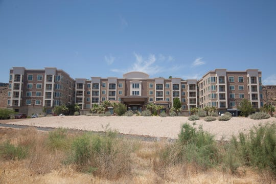 Legacy Ridge Apartments in St. George where Tommy Bradshaw allegedly murdered his roommate Wednesday, June 24, 2020.