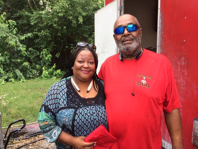 """Nicole and Billy """"Mo"""" Hollaway have owned and operated Mo-Betta BBQ, located at the corner of Apalachee Parkway and Capital Circle SE, for 12 years."""
