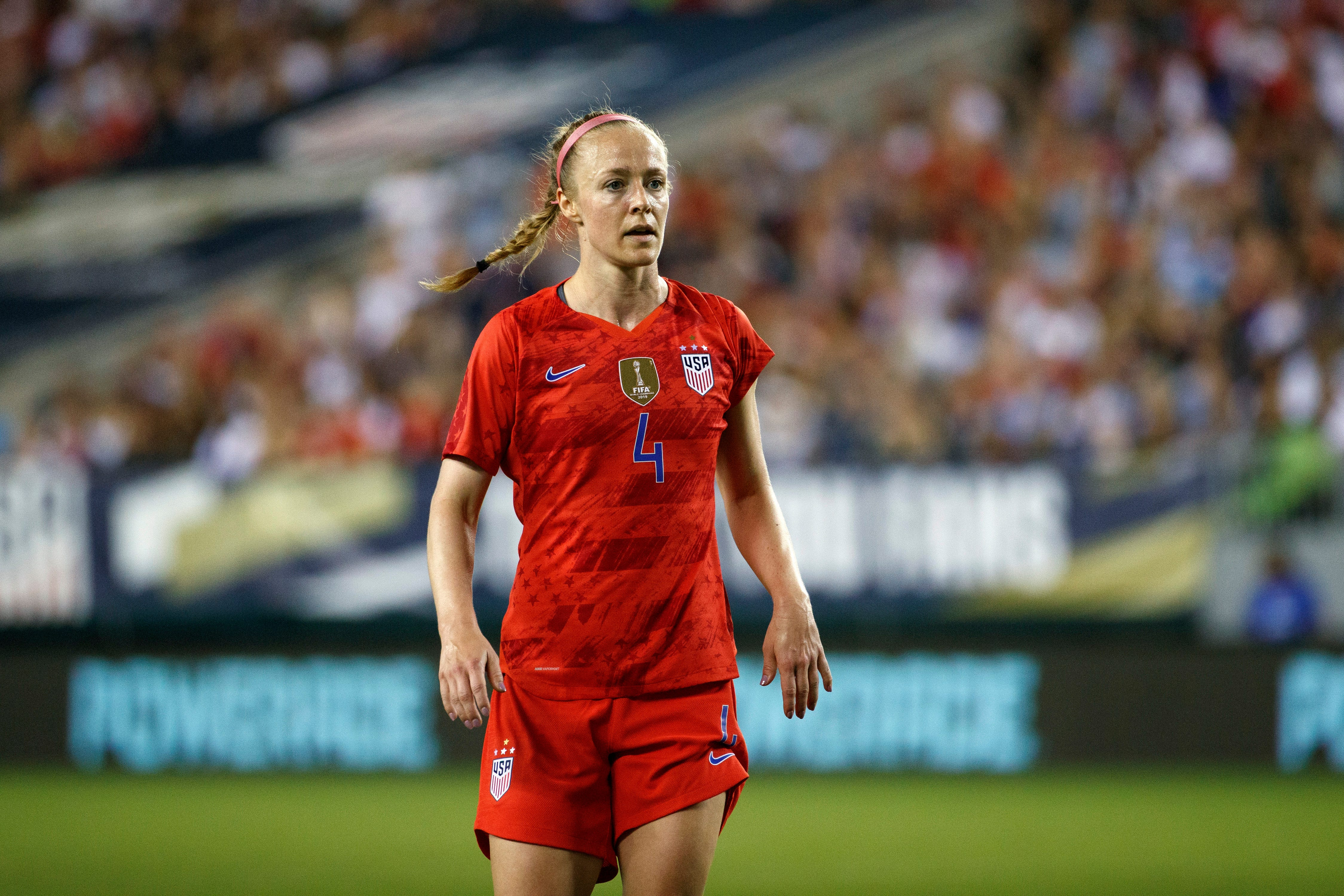 NWSL knows there are risks, hopes there are rewards in being first pro league back