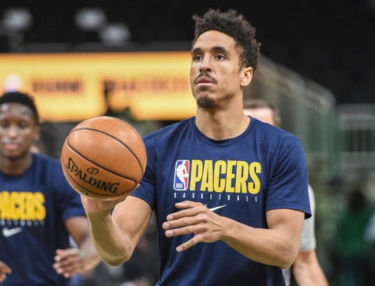 The Indiana Pacers' Malcolm Brogdon.