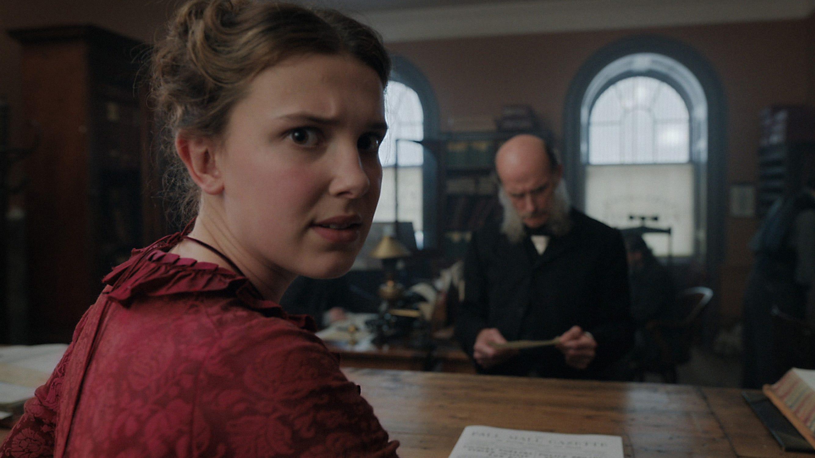 Exclusive: See Millie Bobby Brown as Sherlock's sis in 'Enola Holmes'
