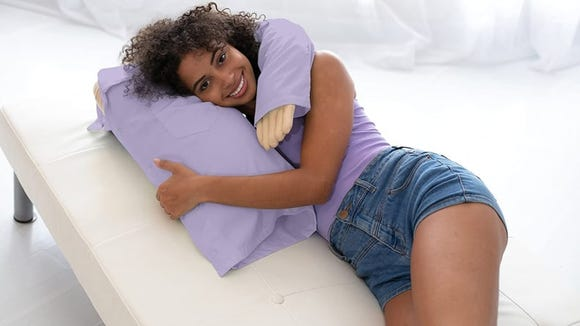 Can't commit to a partner? Don't worry, this pillow has you covered.