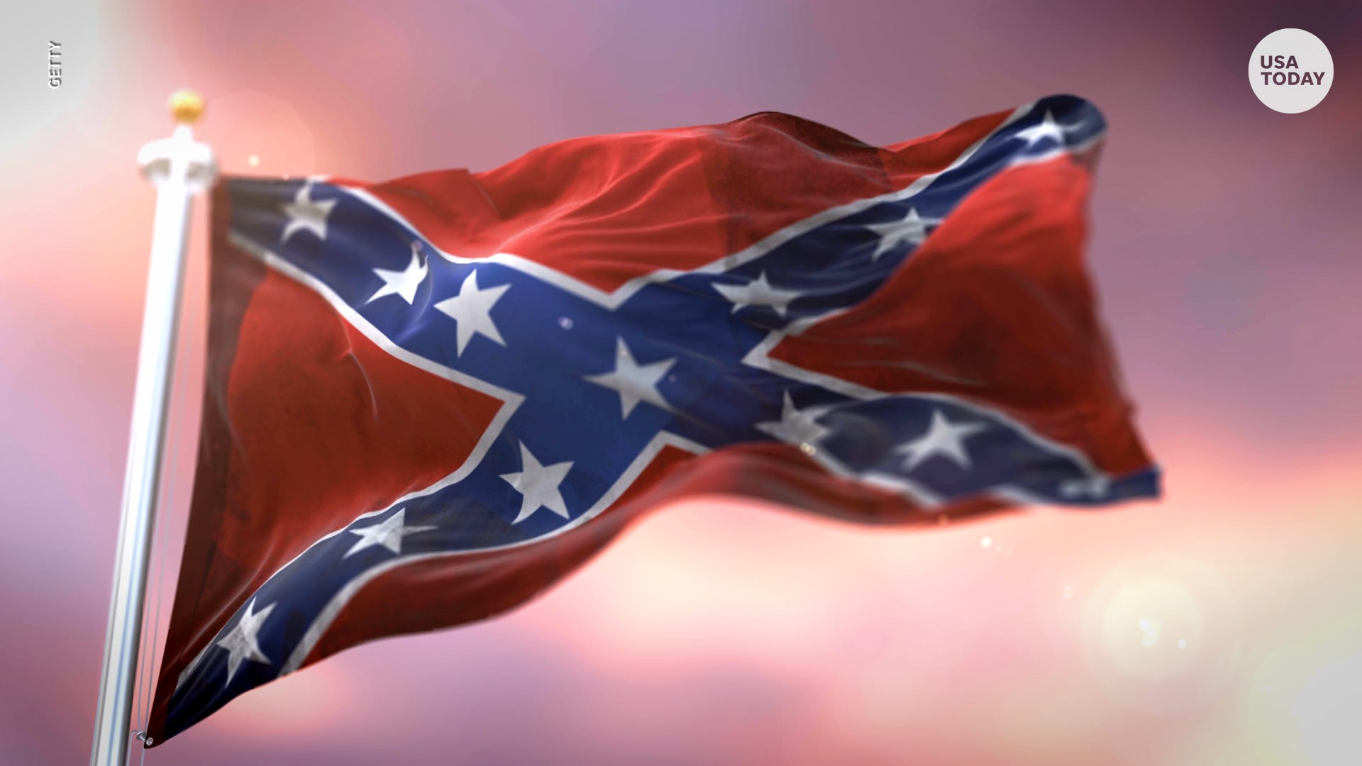 """Why the """"rebel flag"""" is not the historically accurate banner of Confederation"""