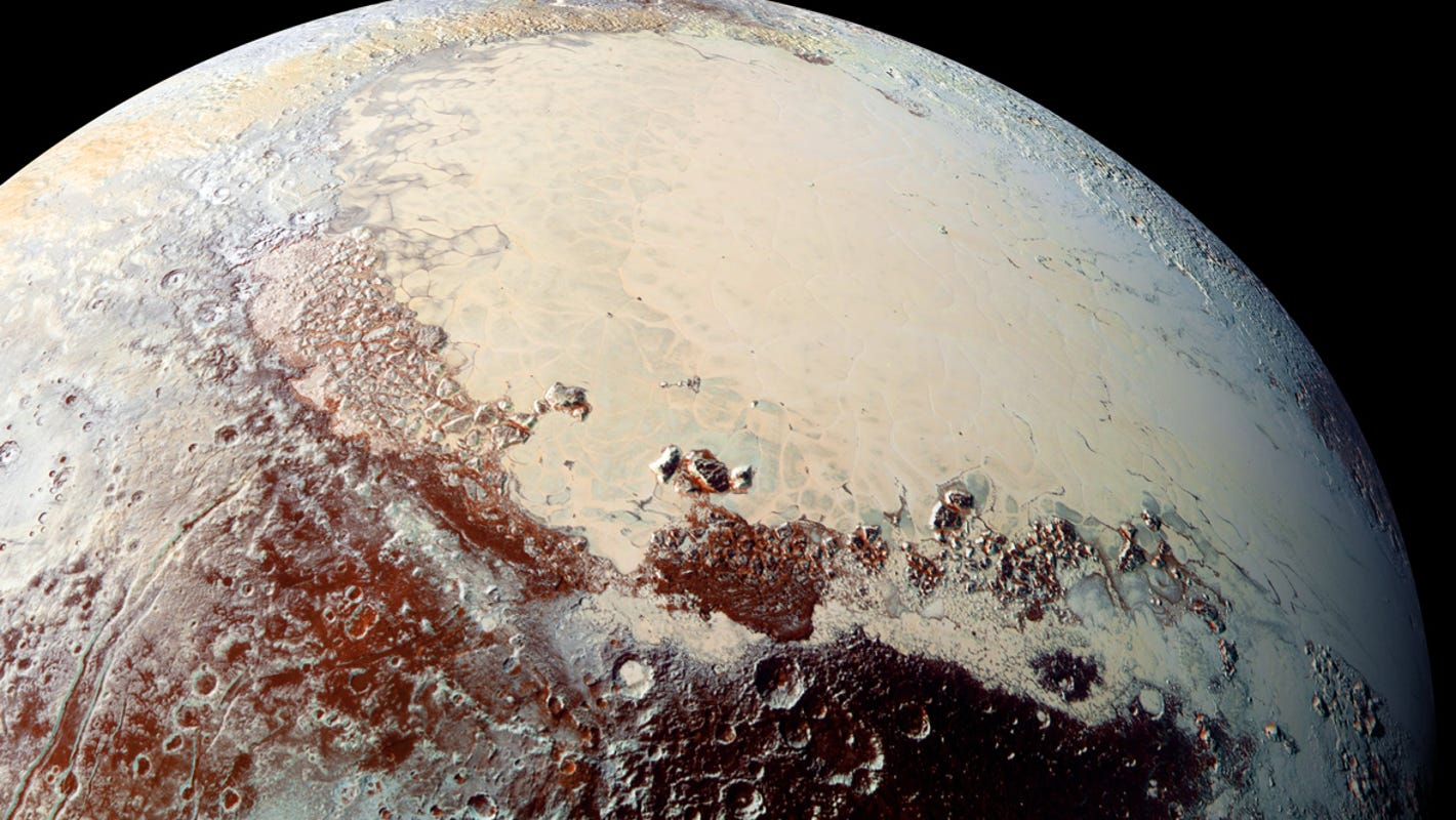 Pluto was once hot and harbors oceans today, study finds