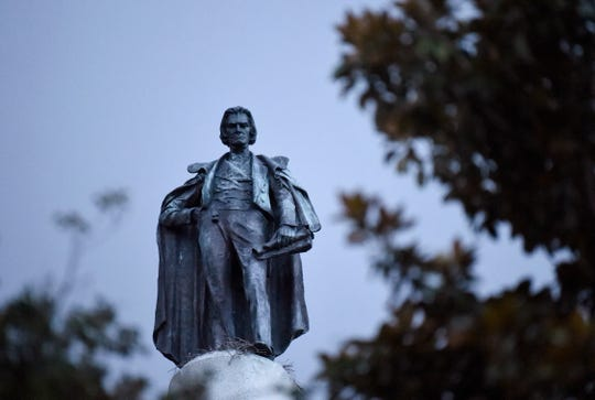 Officials in Charleston voted unanimously Tuesday to remove the statue of John C. Calhoun, former U.S. vice president and slavery advocate, from a downtown square, the latest in a wave of actions arising from protests against racism and police brutality against African Americans