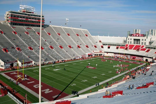 General view of Memorial Stadium before the game between the Indiana Hoosiers and the Penn State Nittany Lions.
