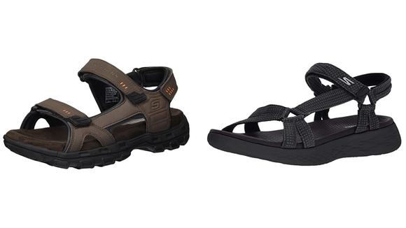 Skechers sandals.