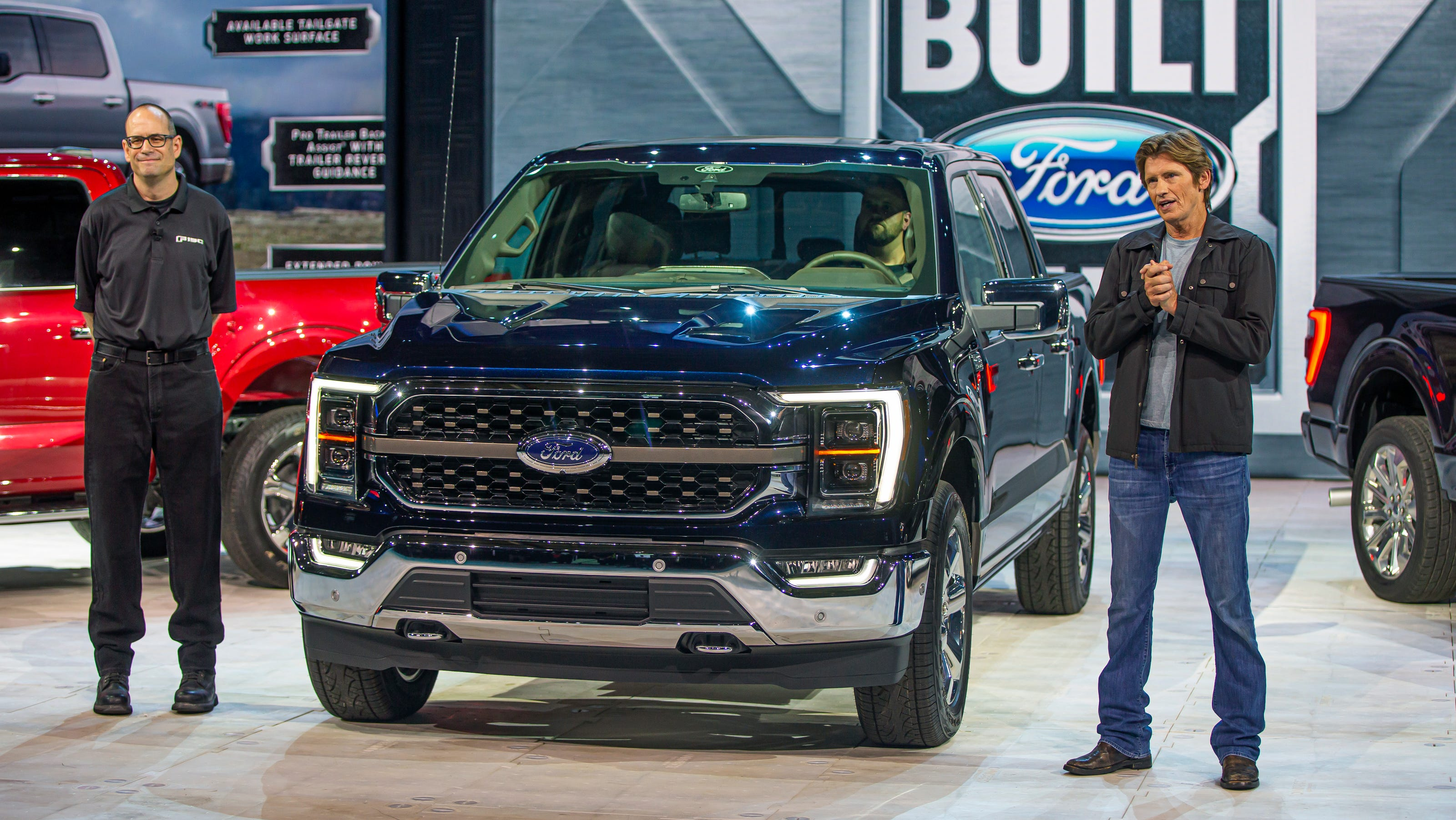 Redesigned Ford F-150 revealed: 2021 F-series pickup truck ...