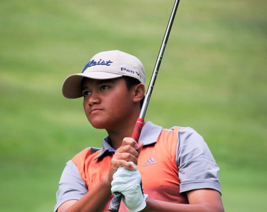 Lorenzo Pinili, 15, from Rochester Hills, advanced to the Sweet 16 at the Michigan Amateur.