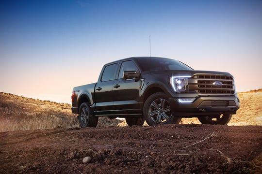 All-new F-150 XLT in Agate Black.
