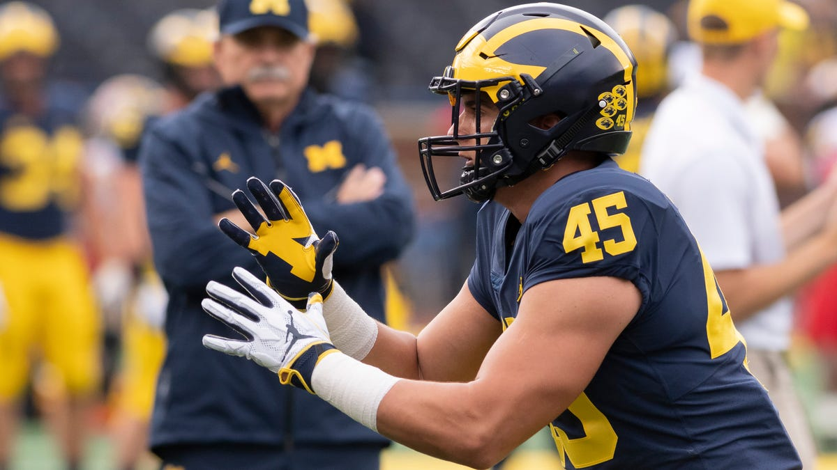 Michigan loses another linebacker to the transfer portal 2