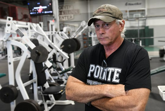 Owner Ken Welch has been anticipating officially reopening Pointe Fitness and Training Center in Harper Woods for several weeks. Closed during the coronavirus state shut down, many gyms are ready to open and some have opened. Photos taken in Harper Woods, Mich. on June 25, 2020.