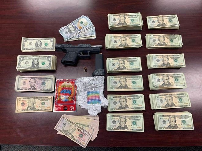 The Lee County Sheriff's Office conducted surveillance in central sections of Lehigh Acres. Separate and unrelated search warrants were authored and executed this week in these areas, resulting in the seizure of narcotics, weapons and over $100,000.