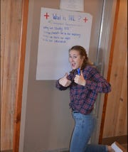 Madison and 13 other teens from across Montana recently participated in the Red Cross Youth Action Campaign, which covers international humanitarian law and the rules of war.