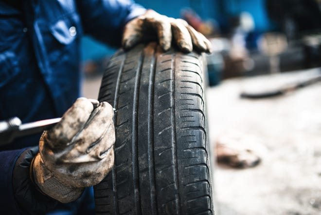 Old tires will show signs of weakness that car owners should be on the lookout for.