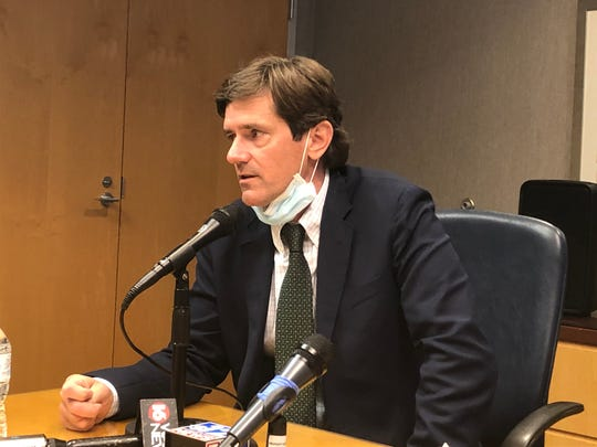 The State Health Officer for the Mississippi Department of Health, Dr. Thomas Dobbs said he expects to see a continued spike in positive coronavirus cases in the state following the highest one day total of cases at a press briefing on Thursday, June 25.